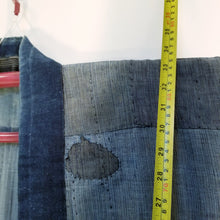 Load image into Gallery viewer, Patchwork Boro Indigo Farmer's Jacket Noragi
