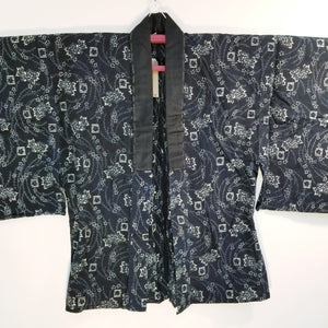 Noragi katazome Cotton Silk Haori