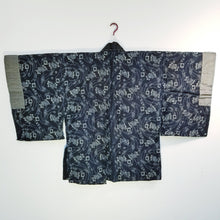 Load image into Gallery viewer, Noragi katazome Cotton Silk Haori