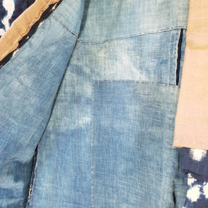 Noragi Antique Aizome Shibori Farmer's Jacket