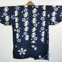 Load image into Gallery viewer, Noragi Antique Aizome Shibori Farmer's Jacket