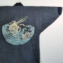 Load image into Gallery viewer, Folk Tsutsugaki Lobster Design Noragi Jacket