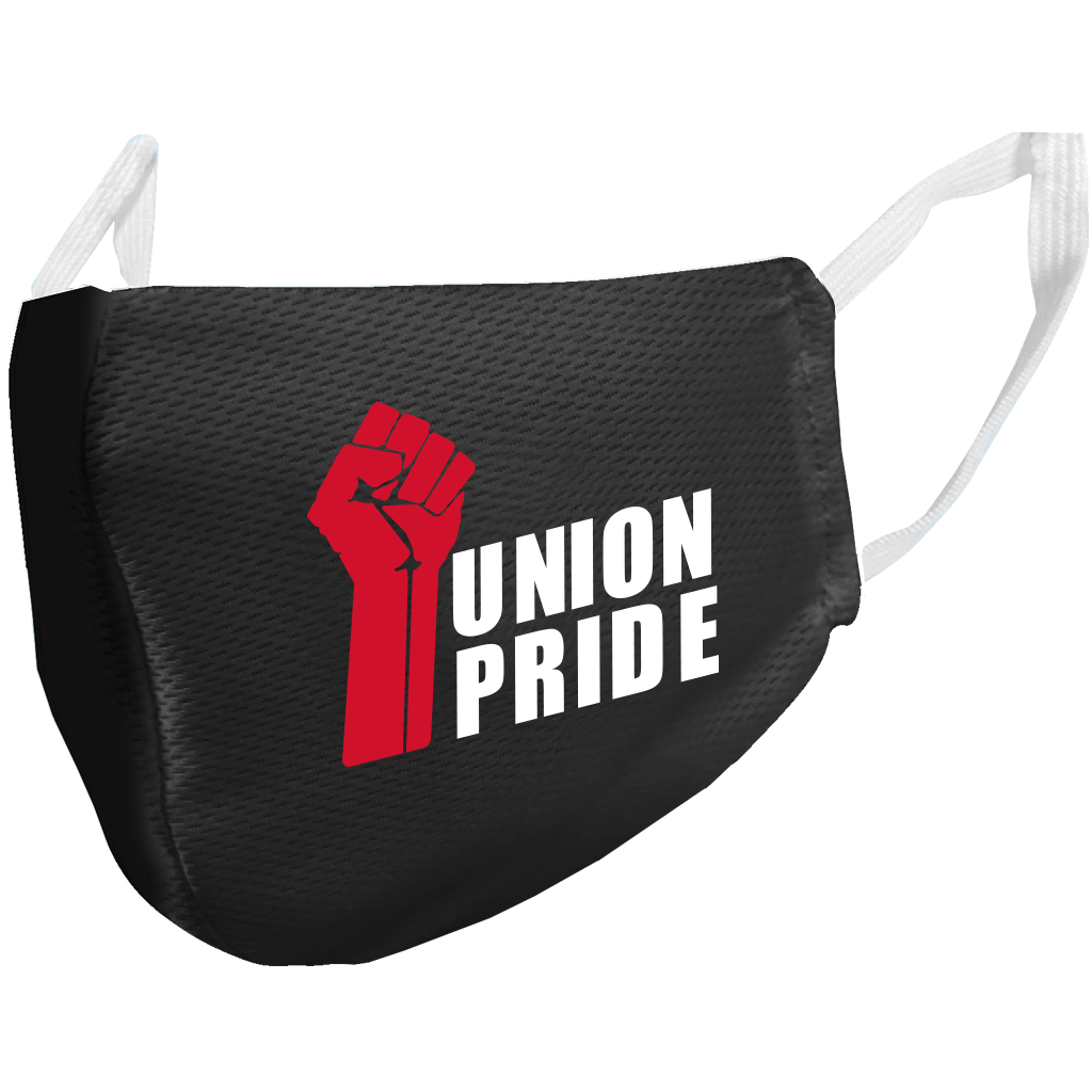 Union Made & Union Printed Microfiber Face Mask