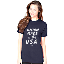 "Load image into Gallery viewer, ""Union Made in USA"" T-shirt_Fun Design"