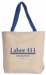 Labor 411 Canvas Tote Bag