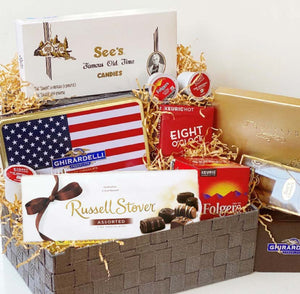Chocolate & Coffee Lovers Delight Gift Basket