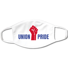 Load image into Gallery viewer, USA Made & Union Printed Face Mask (available in white, black and navy)