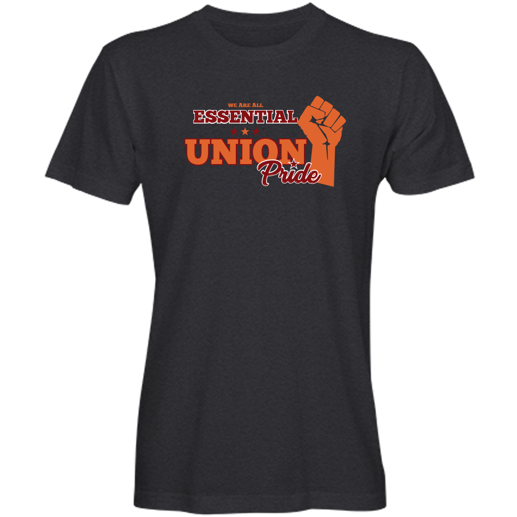 COVID-19 Support/Union-Pride T-shirt (available in black, navy and purple)