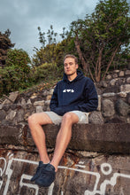 Load image into Gallery viewer, Navy Phases Hoodie