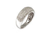 Anillo Oro Blanco , Brillantes 1 Quilate
