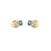 Aros, Diamantes, Topacios, Oro 18 Kilates