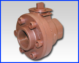 Series F Bolted Body Construction Ductile Iron Ball Valve
