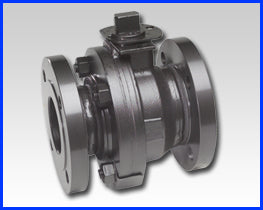 Series F Bolted Body Construction Flanged Carbon Steel Ball Valve
