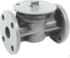 Style 350 Flanged Gas Valve