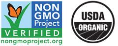 Certified Non-GMO and Organic