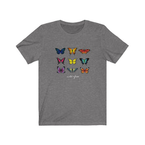 """Colorful Butterfly"" Graphic Tee"