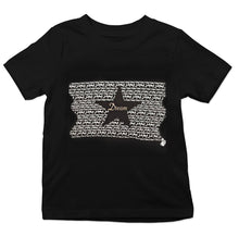 "Load image into Gallery viewer, Black Graphic ""DREAM"" Youth Tee"