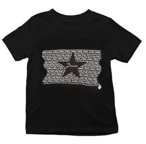 "Black Graphic ""DREAM"" Youth Tee"