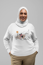 Load image into Gallery viewer, White DESERT GIRL Crewneck Pullover