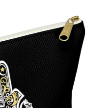 Load image into Gallery viewer, Black Hamza Hand Accessory Pouch