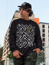 Load image into Gallery viewer, Black LOVE Crewneck Pullover