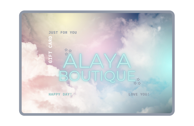 ALAYA Boutique Gift Card