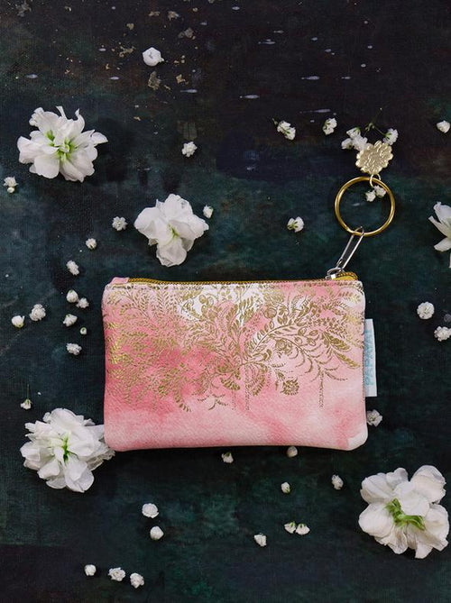 Blush Watercolor Coin Purse