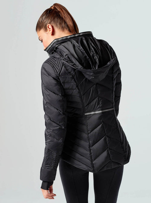 Puffer Jacket with Reflective Detail