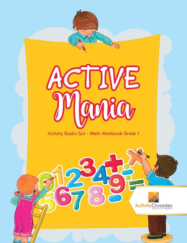 ACTIVE Mania : Activity Books Set - Math Workbook Grade 1