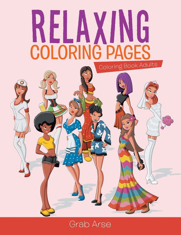 Relaxing Coloring Pages : Coloring Book Adults