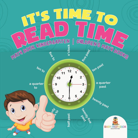 Its Time to Read Time - Math Book Kindergarten | Childrens Math Books