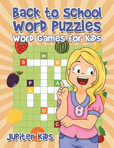 Back to School Word Puzzles: Word Games for Kids