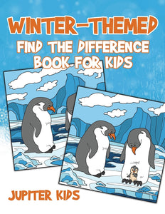 Winter-Themed Find the Difference Book for Kids