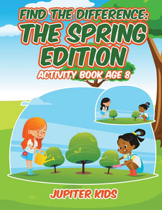 Find the Difference : The Spring Edition : Activity Book Age 8