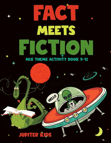 Fact Meets Fiction - Mix Theme Activity Book 9-12
