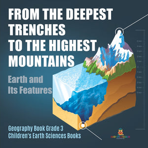 From the Deepest Trenches to the Highest Mountains: Earth and Its Features - Geography Book Grade 3 - Childrens Earth Sciences Books