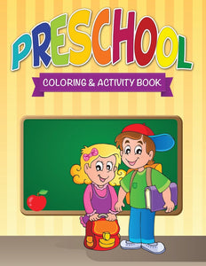 Preschool Coloring & Activity Book