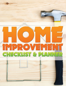 Home Improvement Checklist and Planner