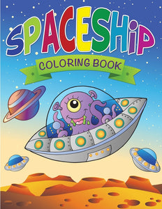 Spaceship Coloring Book