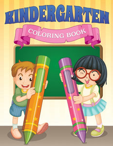 Kindergarten Coloring Book