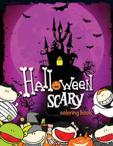Halloween Scary Coloring Book