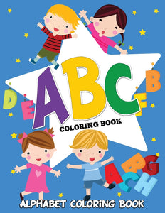 ABC Coloring Book: Alphabet Coloring Book
