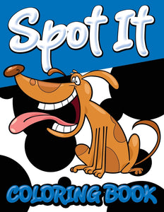 Spot It Coloring Book