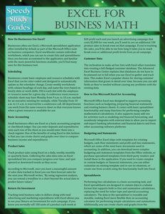 Excel for Business Math
