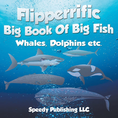 Flipperrific Big Book Of Big Fish (Whales Dolphins etc)