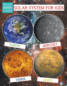 Solar System For Kids (Speedy Study Guide)