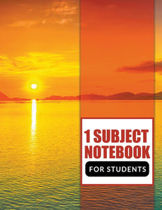1 Subject Notebook For Students