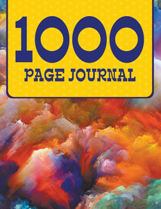 1000 Page Journal