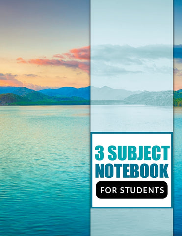 3 Subject Notebook For Students
