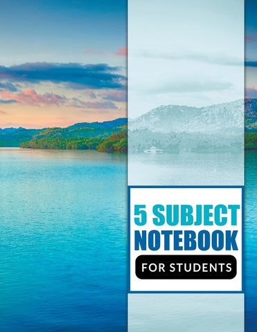 5 Subject Notebook For Students